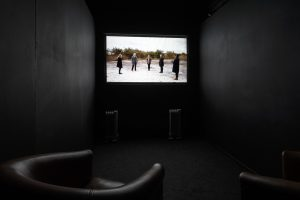 Lay of the land (and other such myths) | Victoria Lucas | 2017 | video, sound | installation view: AirSpace Gallery, Stoke-on-Trent, 2017 | dimensions variable | image: Jules Lister Photography