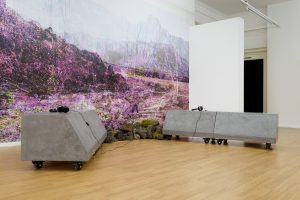 Lay of the land (and other such myths) | Victoria Lucas | 2017 | sculpture, photography, sound | installation view: AirSpace Gallery, Stoke-on-Trent, 2017 | dimensions variable | image: Jules Lister Photography