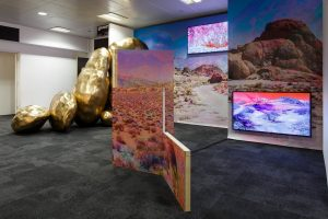 Lay of the land (and other such myths) | Victoria Lucas | 2017 | sculpture, photography, video, sound | installation view: London Art Fair 2017 | dimensions variable | image: Jules Lister Photography