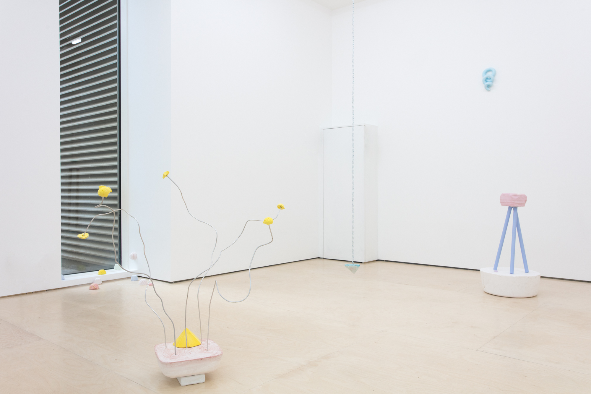 The Ball of My Foot | Pippa Eason | 2019 | various materials & sizes | installation view: Seager Gallery | image: Liz Calvi