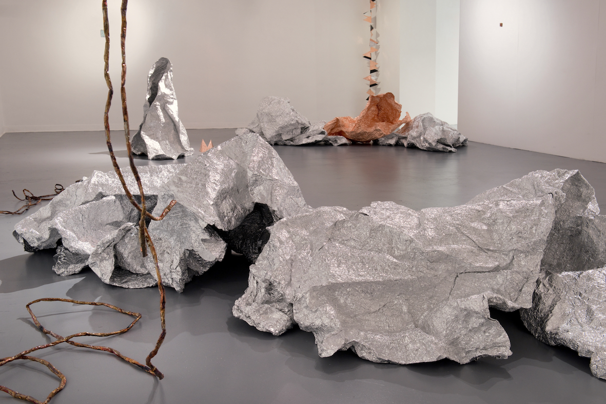 Over Ground Uneven | Charlie Franklin, 2019 | installation view | dimensions variable | image: Colin Davison